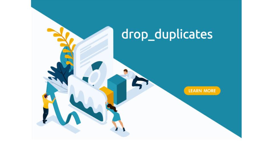Pandas_drop_duplicates
